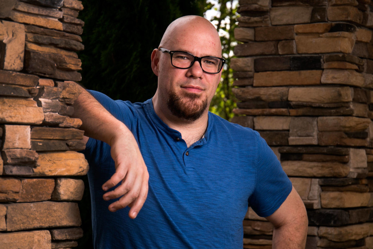 Weight loss surgery success story Jonathan Dichter, by Kevin Clark / The Herald