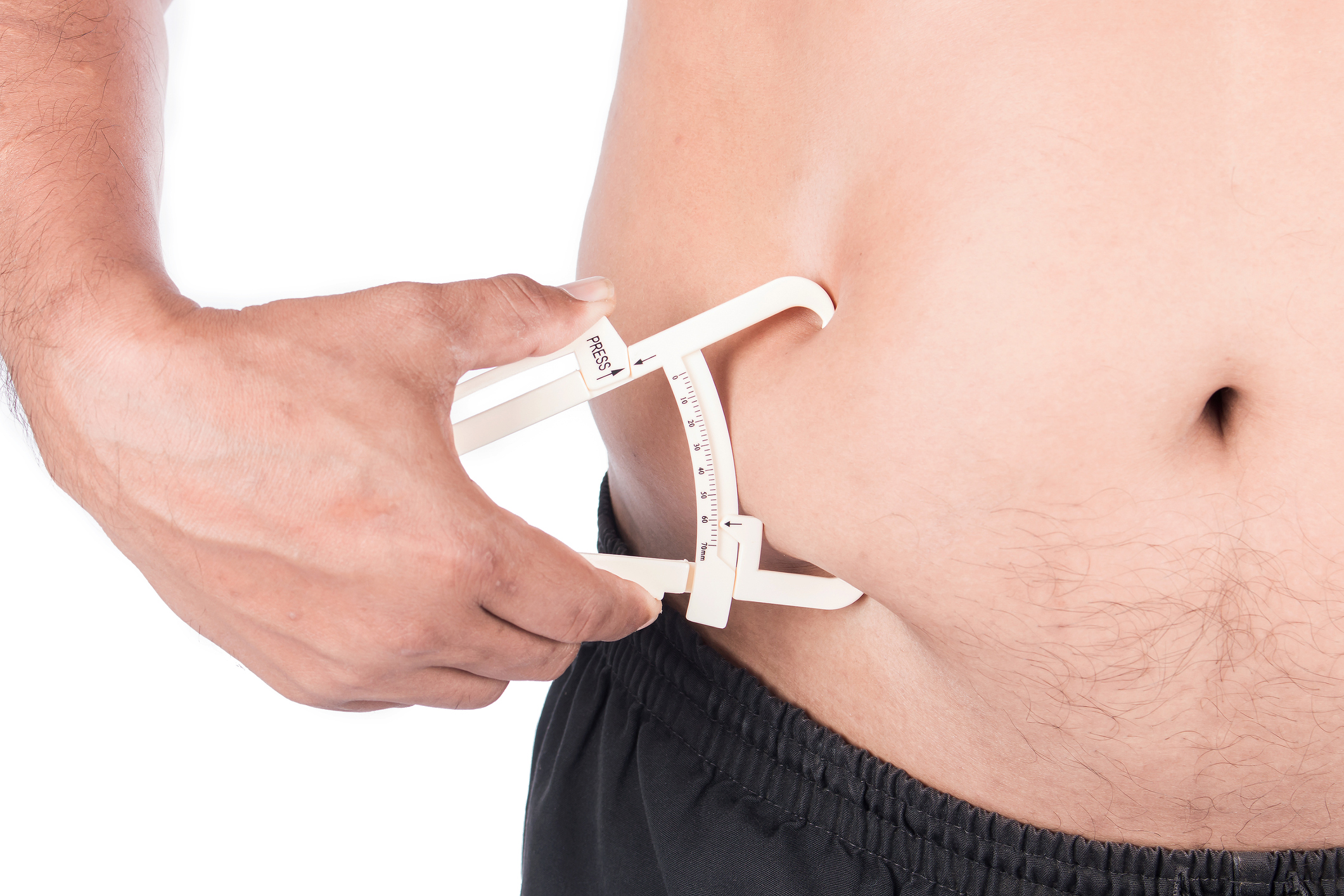 Bariatric patient gets belly measured